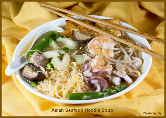 Asian seafood noodle soup recipe genius kitchen photo by skippersy forumfinder Gallery
