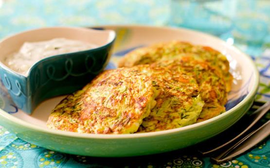 Gluten-Free Turkish Zucchini Fritters Kabak Mucver) Recipe