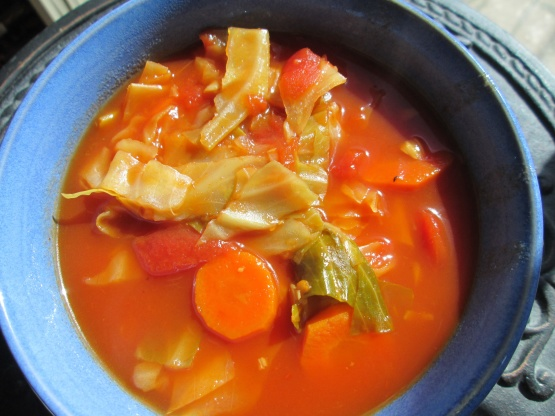 Vegetarian Sweet And Sour Cabbage Soup Recipe Genius Kitchen