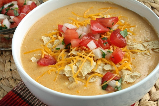 Chicken Enchilada Soup Chilis Copycat Recipe Genius Kitchen