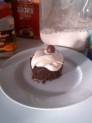 2-Minute Eggless Microwave Chocolate Cake Recipe - Genius Kitchen