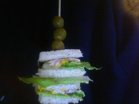 Lindas Tuna And Olive Sandwich Sandwiches Or Finger Rolls Recipe Genius Kitchen