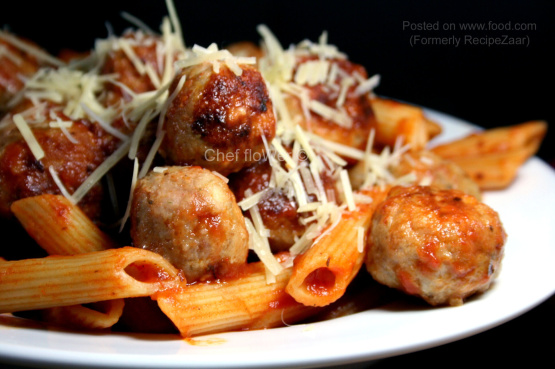 Chicken Meatballs For Spaghetti And Meatballs Recipe Genius Kitchen