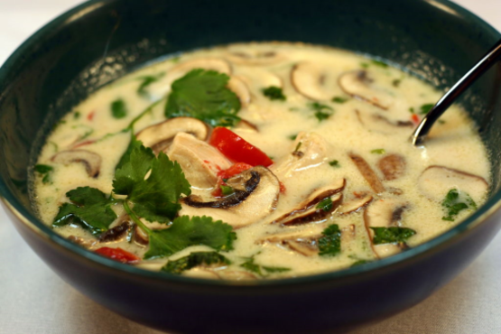 Tom Kha Gai, Thai Coconut Chicken Soup! Recipe - Genius Kitchen