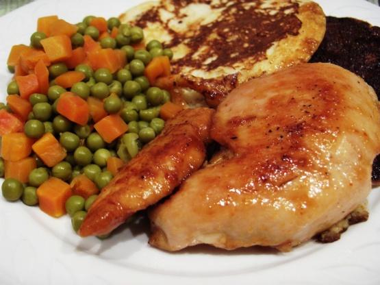 Chicken Breasts With Spicy Honey Orange Glaze Recipe Genius Kitchen