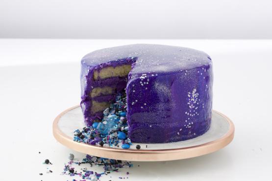 Galaxy Mirror Cake Recipe Genius Kitchen