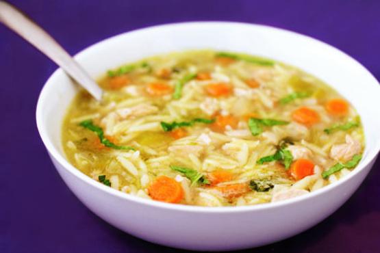 Instant Pot Lemon Chicken Orzo Soup Recipe Genius Kitchen
