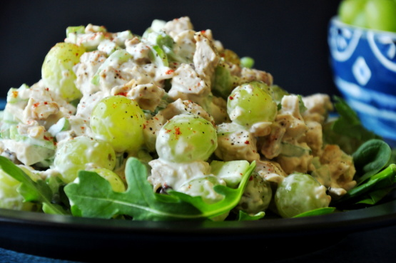 Charlies Famous Chicken Salad With Grapes Recipe Genius Kitchen