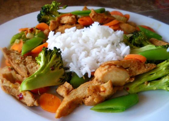Chicken And Vegetable Stir Fry Recipe Chinesenius Kitchen
