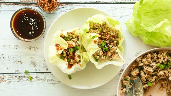P F Changs Chicken Lettuce Wraps Recipe Genius Kitchen