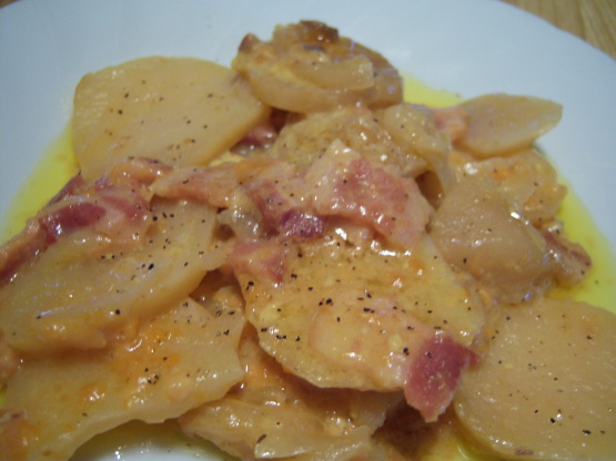 Crock pot scalloped potatoes recipe genius kitchen forumfinder Image collections
