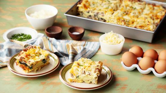 Breakfast Lasagna Recipe Genius Kitchen