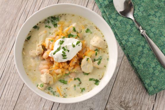 White Chicken Chili Recipe Genius Kitchen