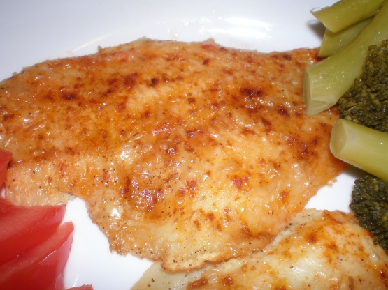 Easy Baked Fish Recipe Food Com