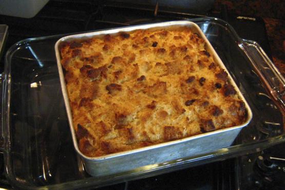 Baileys Irish Cream Bread Pudding Recipe