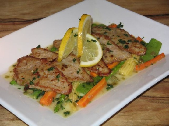 Veal Piccata Veal Francaise Recipe Genius Kitchen