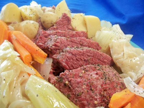 how to cook point cut corned beef