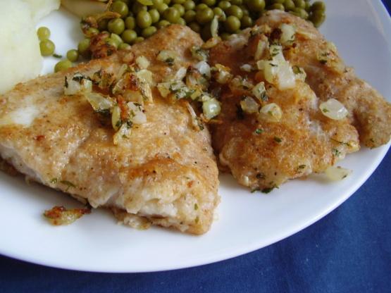 Pan seared haddock recipe genius kitchen for Wegmans fish fry
