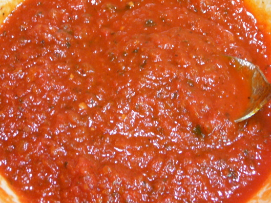 homemade canned pizza sauce recipe genius kitchen