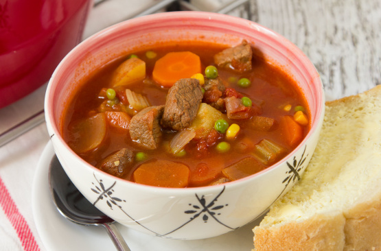 Old Fashioned Beef Veg Soup