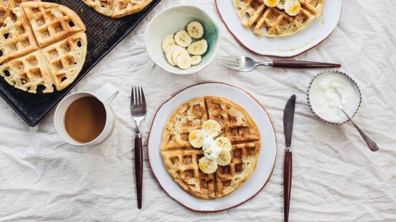 The Best Belgian Waffles Recipe Genius Kitchen