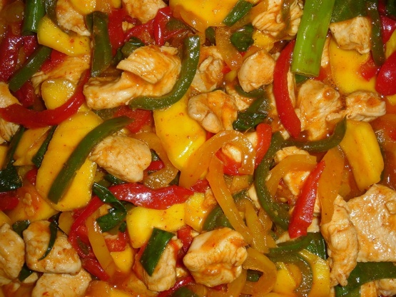 Mango Chicken Recipe Genius Kitchen