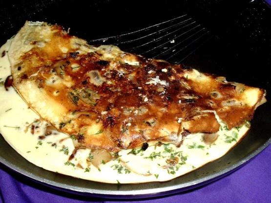 how to make a mushroom omelette