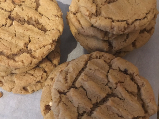 No Flour Peanut Butter Cookies Recipe Genius Kitchen