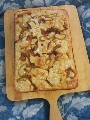 Rustic Sourdough Focaccia With Caramelized Onions Recipe Genius