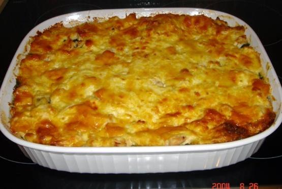 Chicken and spinach lasagna recipe genius kitchen for Spinach chicken lasagna recipe