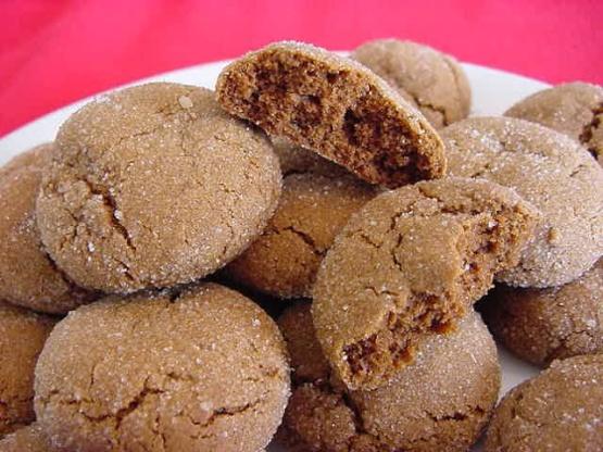 Soft Molasses Cookies Recipe Genius Kitchen