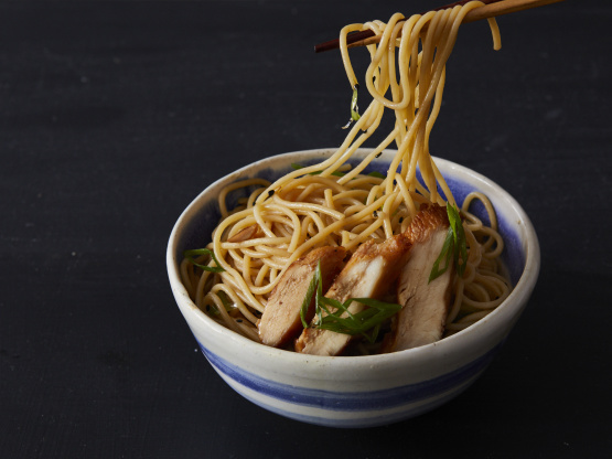 Funky Chicken With Sesame Noodles Recipe - Genius Kitchen