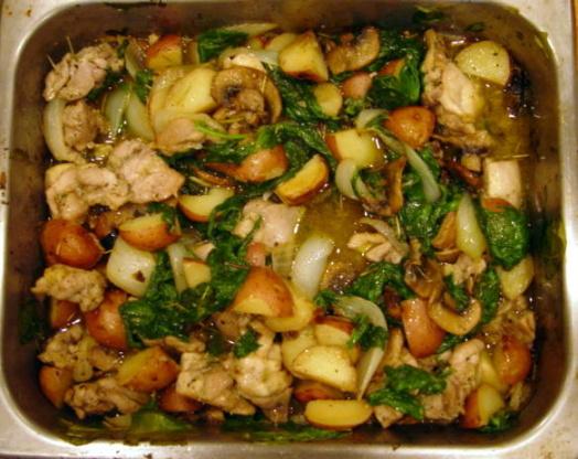 Pan roasted chicken and veggies recipe genius kitchen forumfinder Gallery