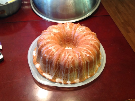 Pound Cake Made With Crisco Shortening And Butter