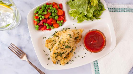 Garlic Panko Chicken Strips Recipe Genius Kitchen