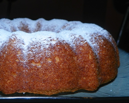 Cinnamon Bundt Cake Using Cake Mix