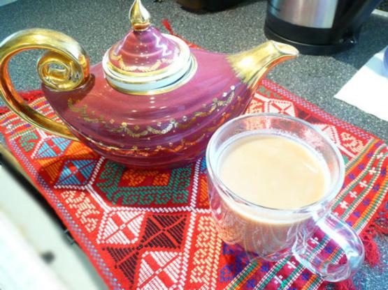 how to make vanilla chai tea