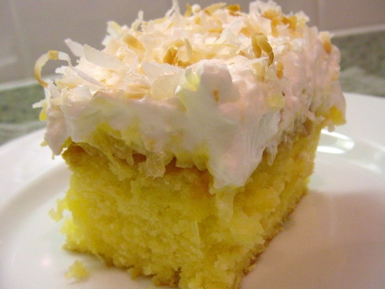 Coconut Cake Recipe With Pudding Mix