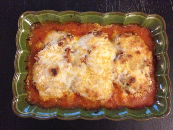 Quick And Easy Chicken Parmesan Recipe Genius Kitchen