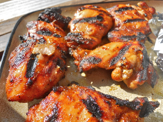 Grilled curry chicken recipe genius kitchen - Marinade poulet curry barbecue ...