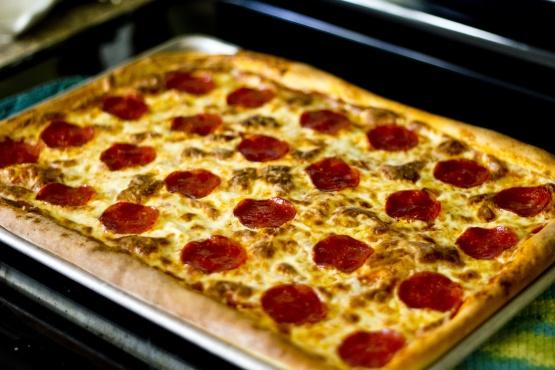 Copycat Pizza Hut Pan Pizza Recipe - Genius Kitchen  Copycat Pizza H...