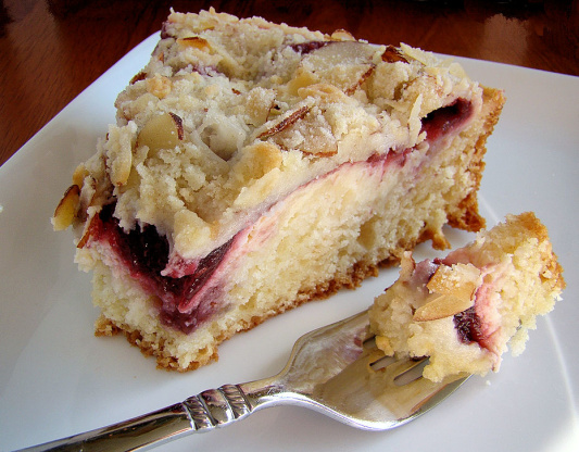 Raspberry Cream Cheese Coffee Cake Recipe Genius Kitchen
