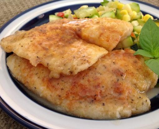 Light Sauteed Tilapia With Lemon Broth Recipe - Genius Kitchen