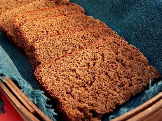 Pumpernickel Onion Bread Breadmaker 1 1 2 Lb. Loaf) Recipe ...