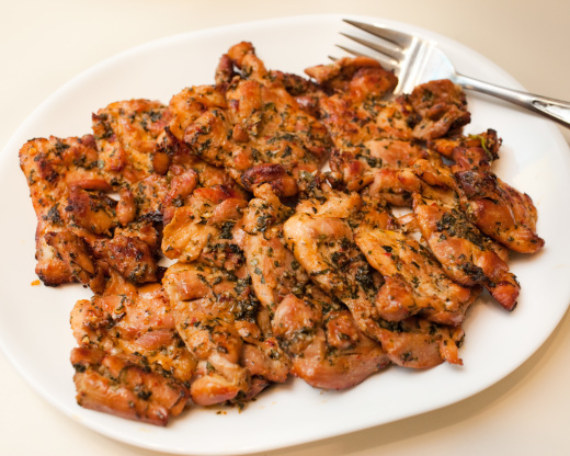 Thai grilled chicken thighs recipe genius kitchen forumfinder Image collections