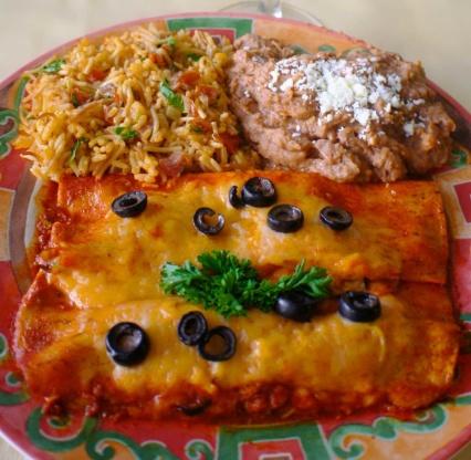 Authentic Beef Enchiladas Recipe Food Com