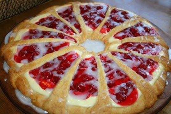 Cherry Cheese Coffee Cake Cake Recipe - Genius Kitchen