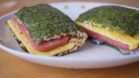 Spam And Egg Onigiri Recipe Genius Kitchen