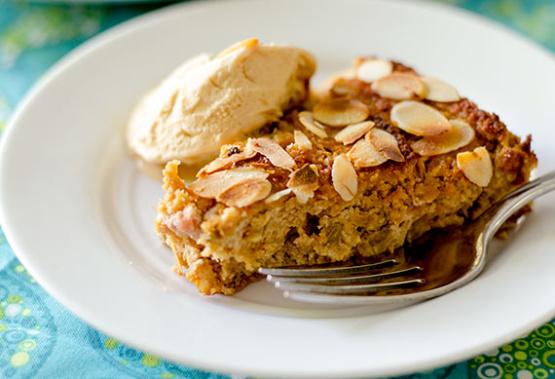Almond Meal Coconut Rhubarb Cake