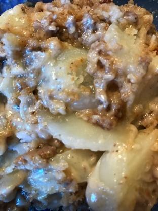 Gwens Old Fashioned Potato Beef Casserole Trisha Yearwood